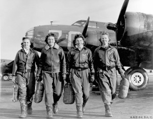Women's Air Force Service Pilots and B-17 Flying Fortress